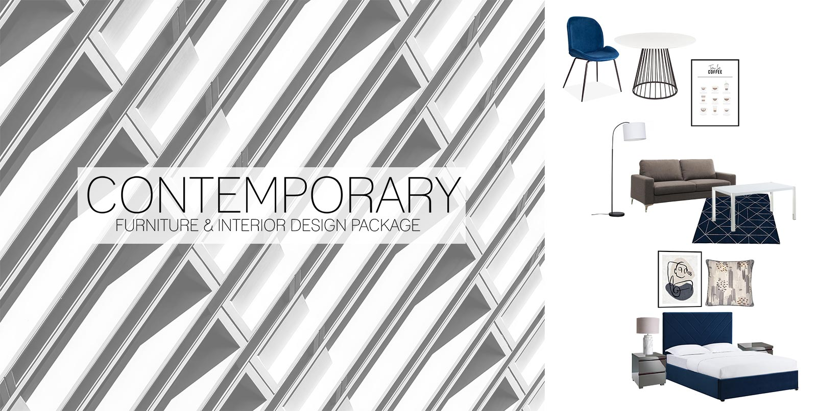 Contemporary Furniture Interior Design Package