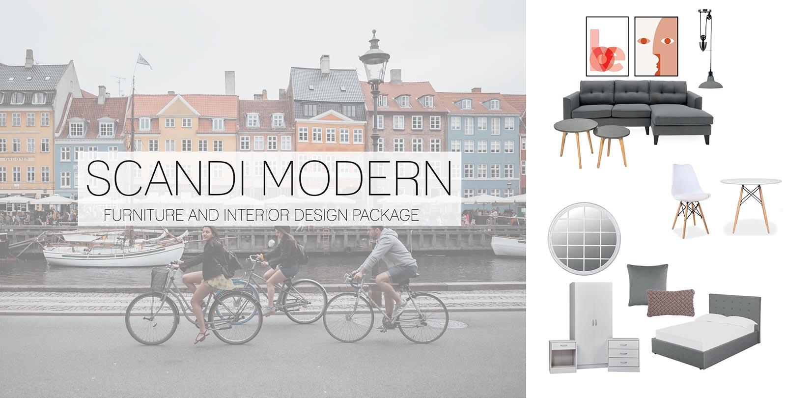Scandi Modern Furniture Design Package