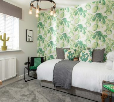 Monochrome and Jade Showhome